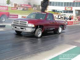 Dodge Dakota Race Truck - drag race technology for the street diesel power magazine