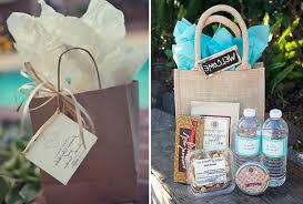 gift bags for wedding guests stunning wedding guest gift bag ideas contemporary styles