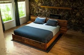 Reclaimed Wood Bed Frame Mez Works Furniture Meyers Reclaimed Wood King Bed
