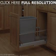 kitchen innovative of trash can ideas large diy cabinet pull out