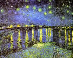 wallpaper paintings night classic vincent van gogh starry night over the rhone