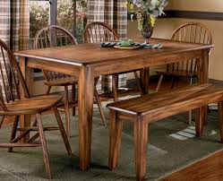 florence round dining room set w vintage chairs casual dining