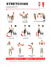 stretching guide for older adults pdf file plus tracking guide