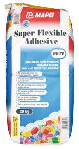 mapei super flexible powder adhesive white 20kg departments