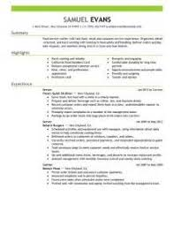 Food Server Resume Examples by Resume Fast Food 2819 Resume For Fast Food Fast Food Worker
