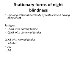 What Does Night Blindness Mean Nightblindness And Xerophthalmia