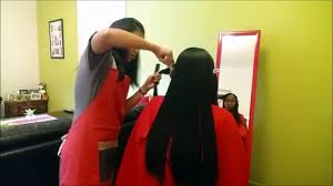 modest design haircut at home service gorgeous long layared u