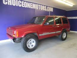 1999 used jeep cherokee 4x4 low miles at choice one motors serving