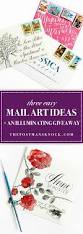 three easy mail art ideas an illuminating giveaway the
