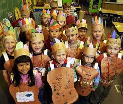photo graders at hillcrest school decked in handmade