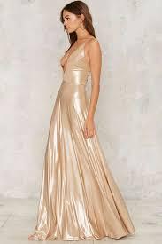 slick and slide maxi dress clothes fall bohemia metallics