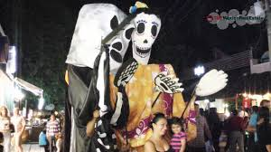 halloween in mexico city halloween u0026 day of the dead in playa del carmen mexico 2014