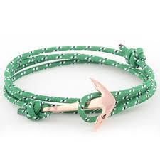 rope bracelet with anchor images Maritime bracelet sail nylon knot anchor nautical rope bracelet jpg