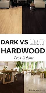 dark floors vs light floors pros and cons dark hardwood dark