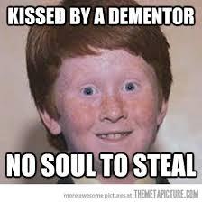 Funny Meme Face Pictures - funny ginger kid no soul meme face on we heart it