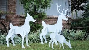 deer outdoor decorations