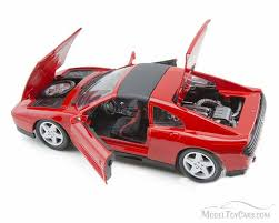 toy ferrari model cars ferrari 348ts hard top red bburago 16006 1 18 scale diecast