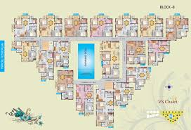 floor plans v s chalet at off old airport road bangalore vsr