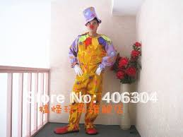 Ladies Clown Halloween Costumes Aliexpress Buy Free Shipping Clown Costume Suit Hat