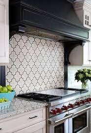 Handmade Tile Backsplash And Custom Range Hood Cool Kitchens - Stove backsplash