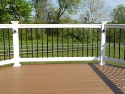 outdoor lowes deck railing porch railings lowes decking