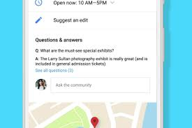 Gppgle Maps Google Brings Q U0026as To Google Maps And Search The Verge