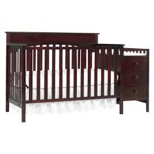 Graco Convertible Crib With Changing Table Graco Crib And Changer Classic Cherry 349 Baby Items