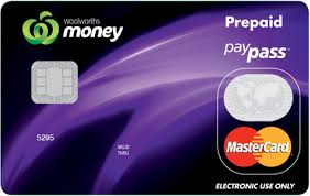 prepaid credit card pre paid credit card woolworths cards