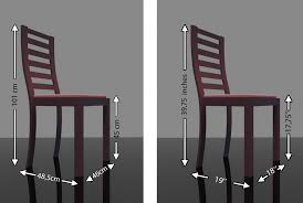 Average Dining Room Table Height by Dining Chair Dimensions