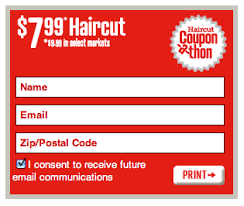 haircut coupons 7 99 or 9 99 coupons several hair salons for