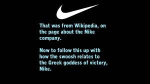 what does the logo nike logo meaning justification of logo decryption