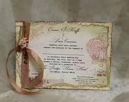 Shabby Chic Wedding Invitations by Shabby Chic Wedding Invitation Irish Invitation