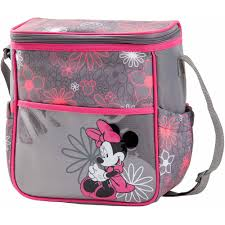 disney minnie mouse black bow 5 1 diaper bag walmart