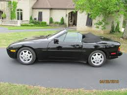 1991 porsche 944 s2 cabriolet porsche 944 convertible 1991 black for sale wp0cb2942mn440352