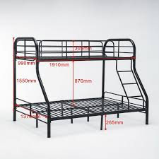 Metal Bunk Bed Frame Metal Bunk Bed Frame Bedroom