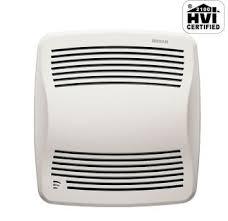 Nutone Bathroom Fan With Light Humidity Sensing Bathroom Exhaust Fans Ventingdirect