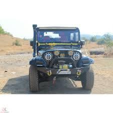 mahindra thar mahindra thar 540 550 front bumper with winch plate