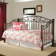 marvelous iron twin daybed white metal with trundle bidcrown