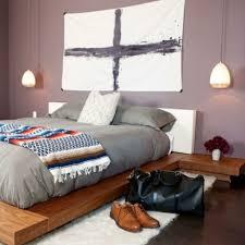 Schlafzimmer Farbgestaltung Gemütliche Innenarchitektur Schlafzimmer Farbe Violett