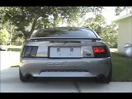 96 98 mustang tail lights 1996 2004 mustang sequential tail lights youtube
