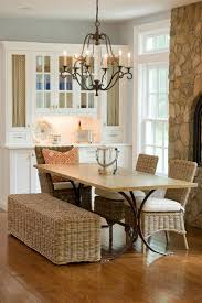 terrific wicker bench seat decorating ideas gallery in dining room