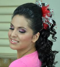 quinceanera hairstyles and makeup quince