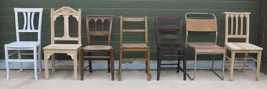 Reclaimed Armchair Antique Church Chairs Stacking Chapel Seating And Stools