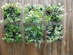Garden Wall Planter by Living Room Filling Containers With Plants How To Make A Garden