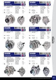 nissan maxima j31 alternator ashdown ingram alternator u0026 starter motor catalogue 2014 page