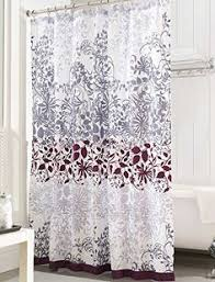 Shower Curtains Purple Embroidered Floral Vine Shower Curtain Shower Curtains Simons