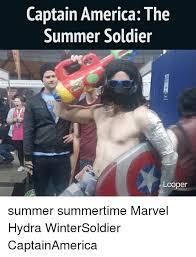 Captain America Meme - captain america the summer soldier coper summer summertime marvel