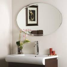 Oval Bathroom Mirror by Creative Bathroom Wall Mirror Design Both In Modern Or Classical