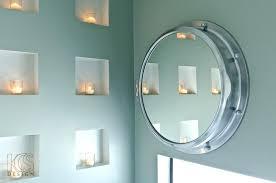 porthole mirrored medicine cabinet porthole medicine cabinet sisleyroche com