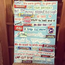 card invitation samples candy bar poster fathers day for grandpa